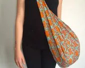 Large Cotton Sling Bags -...