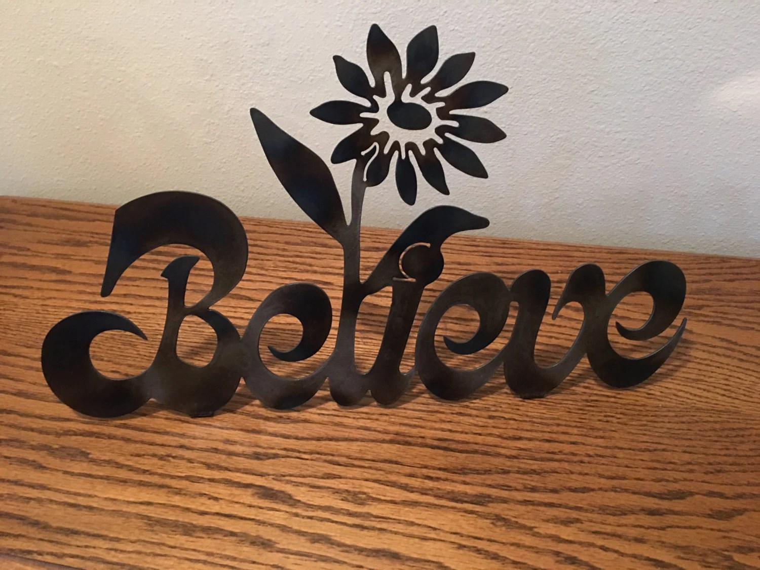 Items Similar To Believe, The Word Believe , Wall Art