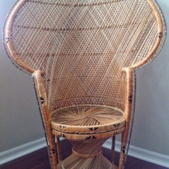 Vintage Peacock Chair Outdoor Rattan Chairs Wicker
