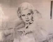 Vintage photo Jean Harlow...