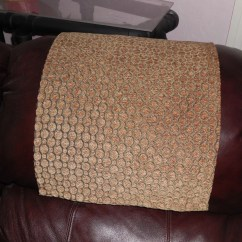 Chair Covers For Headrest Diy Wooden Rocking Plans Custom Order Psschwail Tan Circleswith Non Skid Kit