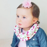 Baby Scarf Toddler Scarf Baby Infinity Scarf by ...