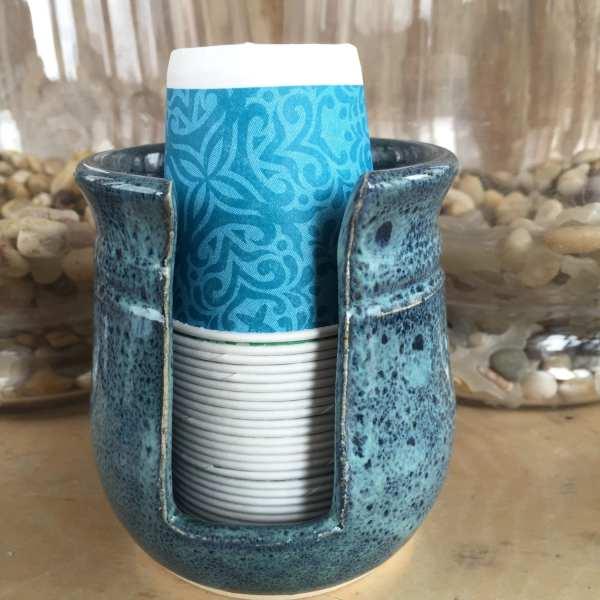 Bathroom Paper Cup Holder