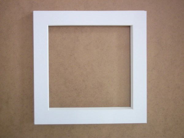Mats And Frames Square Frame 10 X White
