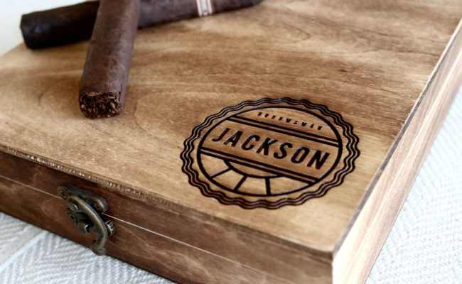 Groomsmen Gift Box Personalized Cigar Box Engraved