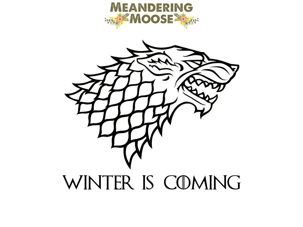 Game of Thrones Decal House Stark Decal House Stark Sigil