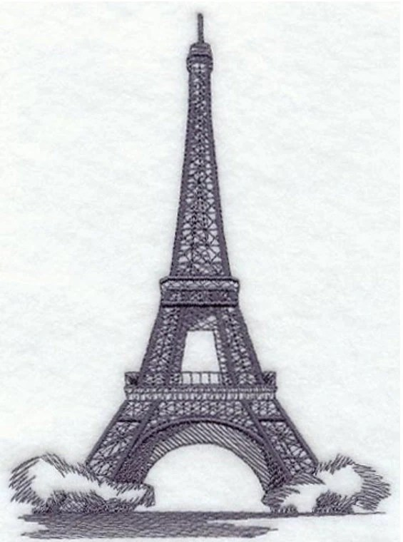 Eiffel Tower Decor Decorative Bath Towels by TwistedStitches13
