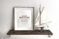 Manly wall art Man cave decor Rustic wall art Manly scripture
