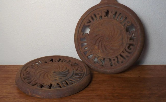 Burner Covers Superior Stoves Ranges Pierced Cast Iron