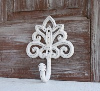 White Wall Hook Decorative Wall Hook White Home Decor Towel
