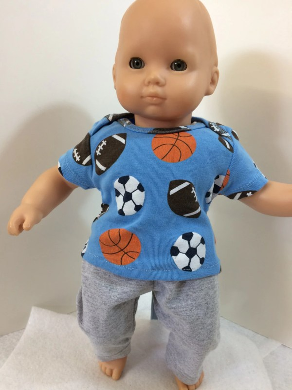 Boy 15 Bitty Baby Clothes 2-piece Outfit Cool