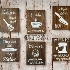 Wooden Signs For Kitchen Islands With Granite Top Wood Sign Funny Secret Santa Gift