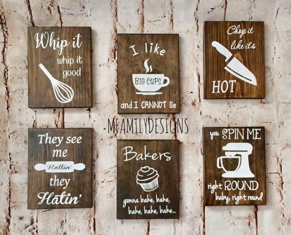 Wood Kitchen Sign Funny Signs Secret Santa