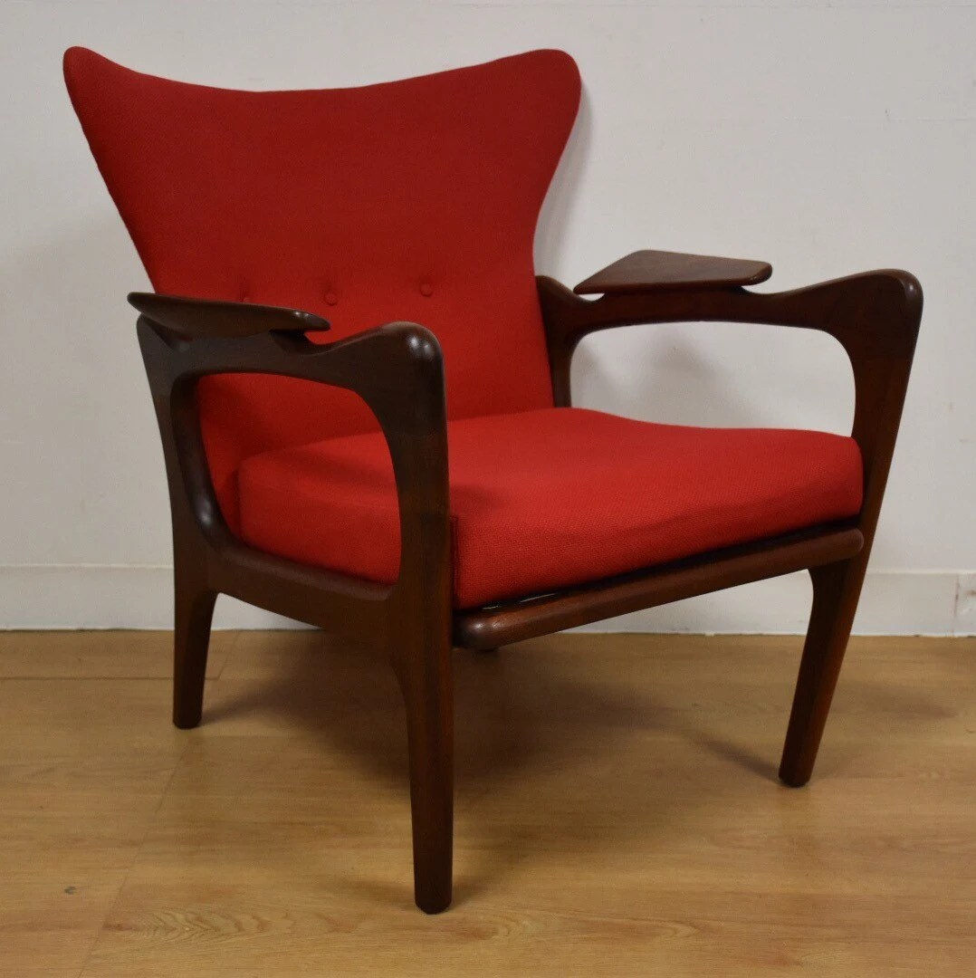 adrian pearsall lounge chair lawn chairs academy wing back