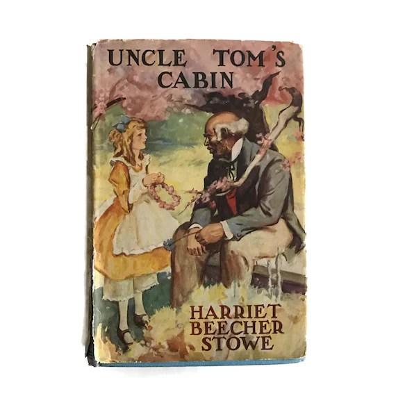 Vintage Book Uncle Toms Cabin Harriet Beecher Stowe