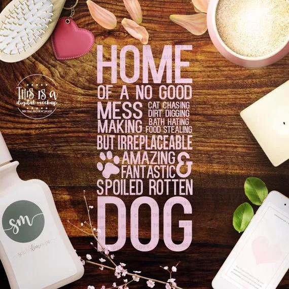 Download Dog svg Dog Sign svg Love My Dog svg Dog Cut File Dog Love