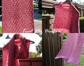 Crochet Rose Bloom Stole ...