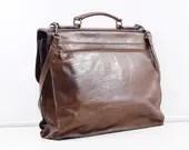 leather laptop bag, vinta...