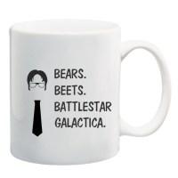 Bears Beets Battlestar Galactica Mug The Office Dwight