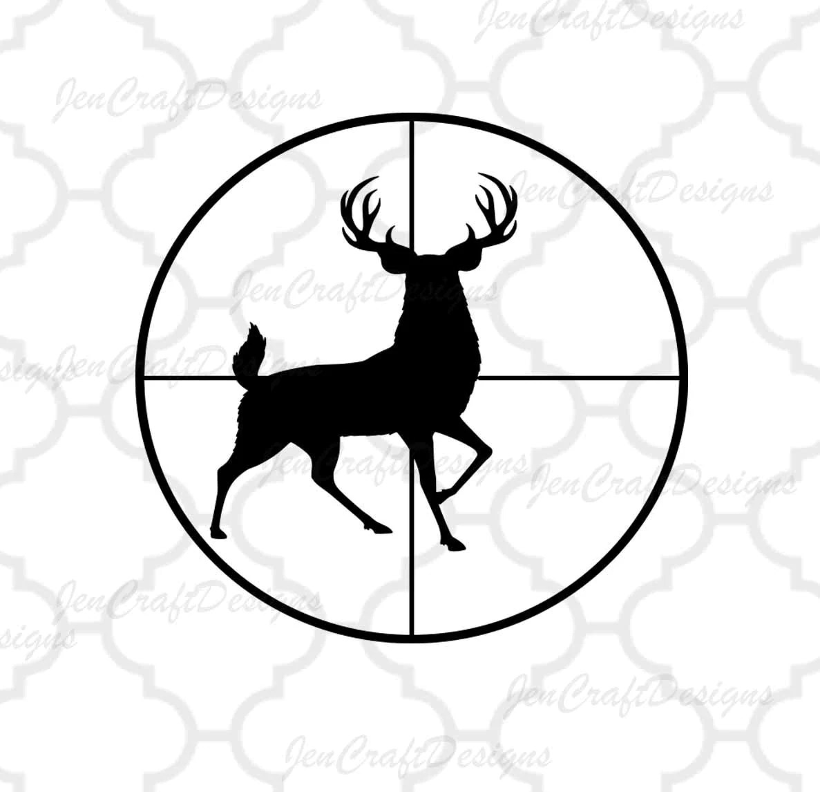 Deer Svg Cutting File Hunting Svg Studio3 Eps Dxf