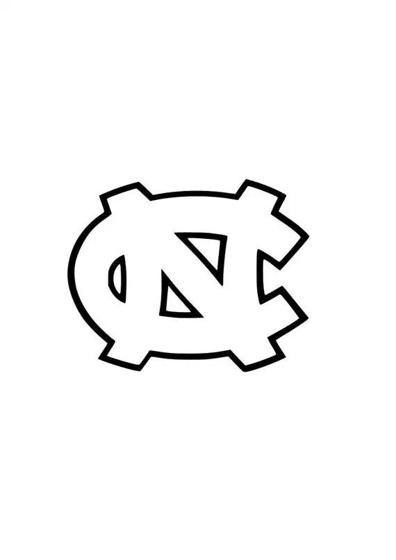 University of North Carolina Tarheels UNC logo by