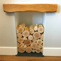 Decorative Logs for Feature Displays in Empty Fireplaces