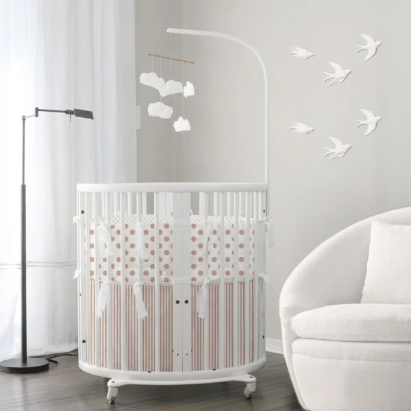 Rose Gold Baby Bedding