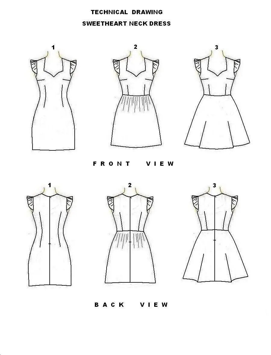 PDF sewing pattern Reversible corset bustier crop top with
