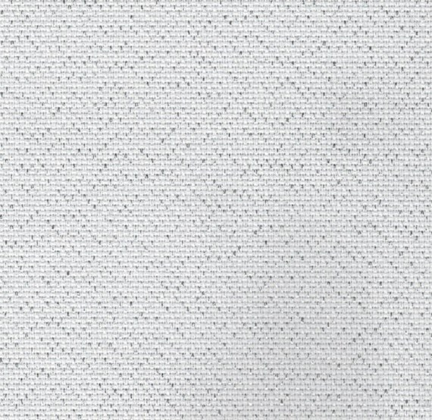 Silver Glitter 14 count Lurex Aida Cross Stitch Fabric woven