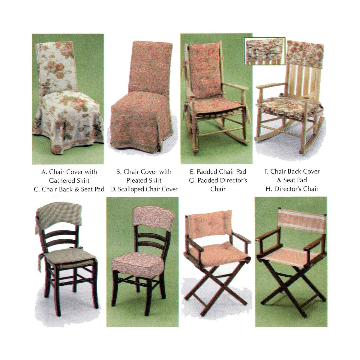 sewing patterns for patio chair cushions covers wedding restaurant pads home decor pattern by donna