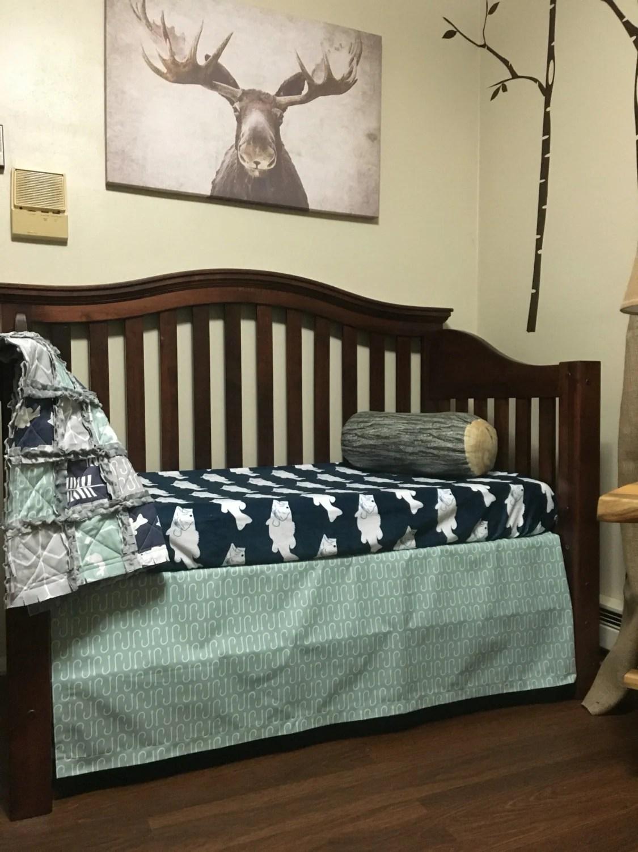 GONE FISHING Nursery Collection Fishing Crib bedding