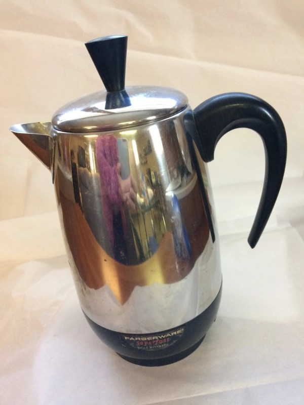 Vintage Coffee Percolator Farberware 8 Cup Pot