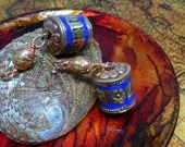 Tibetan Prayer Wheel Earr...