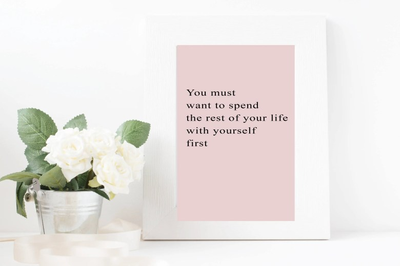 Love Yourself First...
