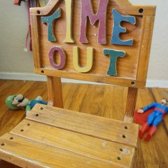 Kids Time Out Chair Barton Accessories Vintage Solid Wood Children 39s