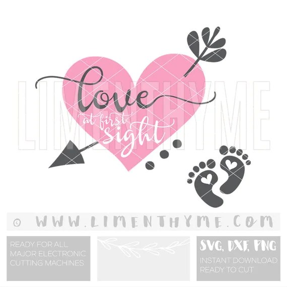 Download Love at first sight SVG Mommy to be baby bump baby shower Svg