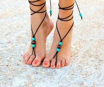 Bohemian Barefoot Sandalstribal Foot Jewelryboho Ankle