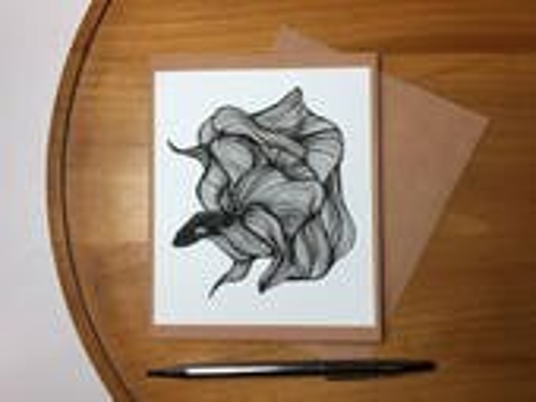 Unfurled Beta Fish Note C...
