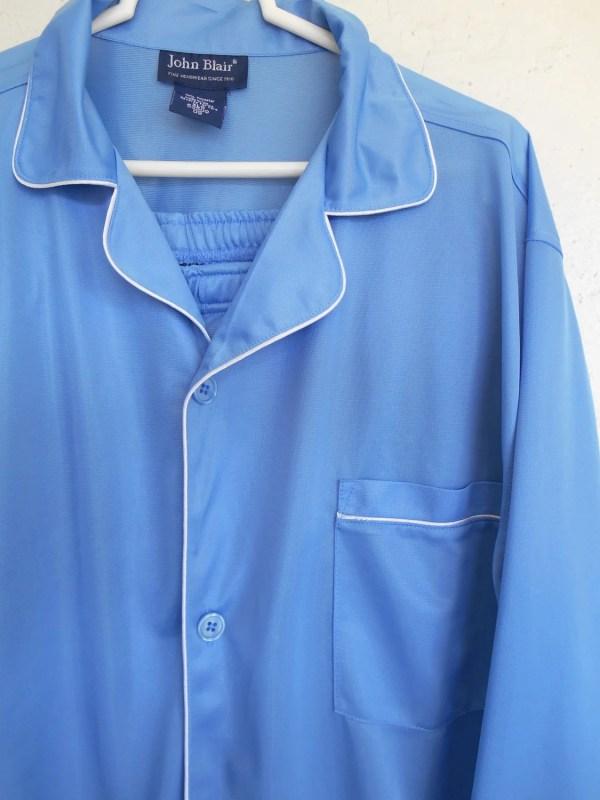 Vintage Pajamas Men' Silky Polyester John Blair Lounge