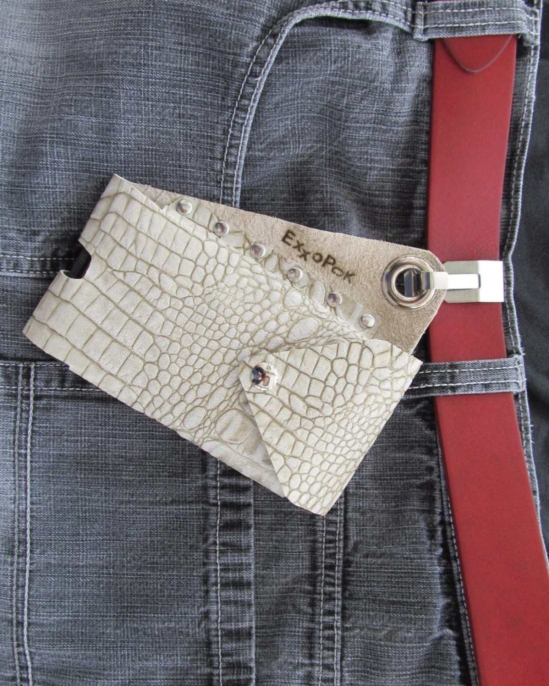 Leather Belt Clip Cell Ph...
