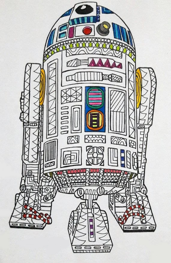 r2d2 star wars coloring page star wars coloring page
