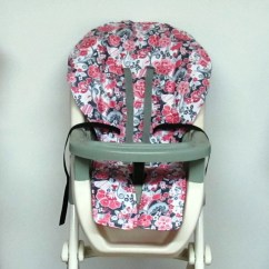 Graco Duodiner High Chair Cover Replacement Swivel Recliner Chairs Fabric Eddie Bauer Wood Pad Turquoise By Sewingsilly
