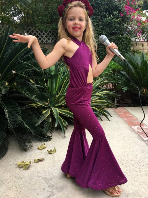 58692adb2 Selena Quintanilla Purple Jumpsuit Costume - Exploring Mars