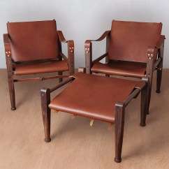 Leather Safari Chair Retro Dining Table And Chairs Ireland Lounge Accent