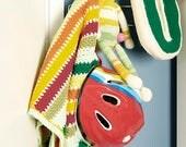 Vintage Crochet Blanket, ...