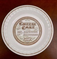 Vintage Pie Plate Royal China by Jeannette Corp. Cheese ...