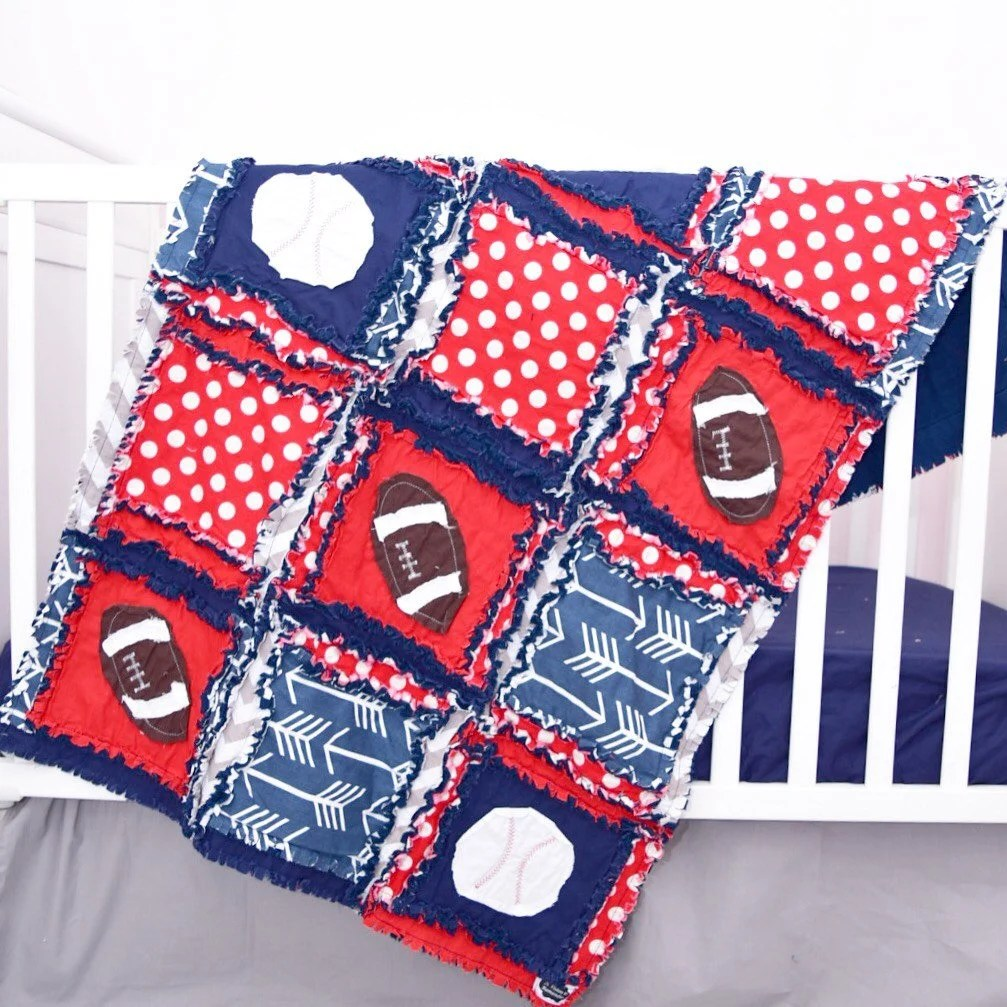 Baby Crib Bedding Rag Quilts Amp Ruffle Home By