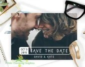 Save The Date Photo Card ...