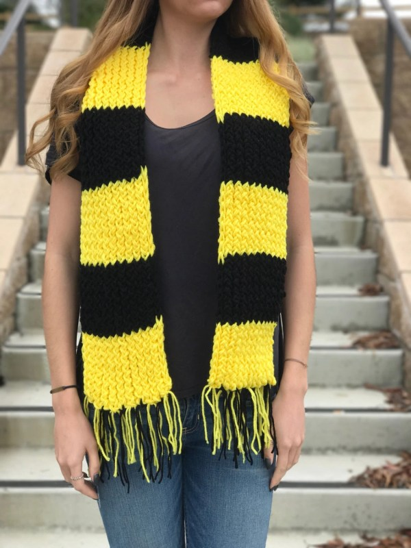 20 Hufflepuff Scarf Pictures And Ideas On Weric