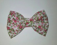 Pink Floral Bow Tie Bow Tie Pretty Bow Tie Men's Bow